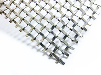 Flat Wire Decorative Mesh_Architectural Mesh_Products_Web Wire Mesh