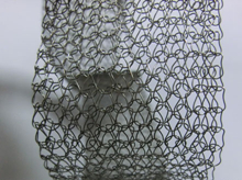 40mm width knitted wire mesh