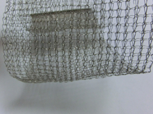 80mm width knitted 304 wire mesh