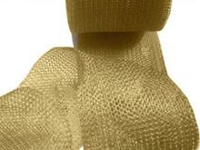 50mm Width Brass Wire Knitted Mesh