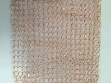 125mm Width Copper Wire Knitted Mesh
