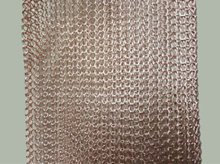 100mm Width Copper Wire Knitted Mesh