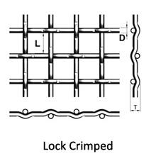lock crimped
