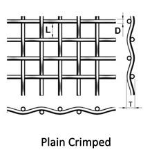 plain crimped