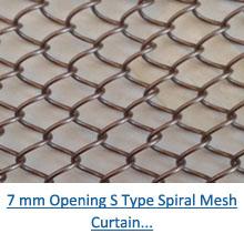 7 mm opening s type spiral mesh curtain pdf