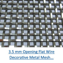 3.5 mm opening flat wire mesh pdf