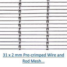 31 x 2 mm crimped wire and rod architectural mesh pdf